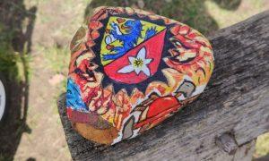 Stein mit Didderse-Wappen